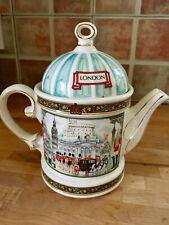 Vintage Sadler Tea pot Horseguard London heritage collection porcelain