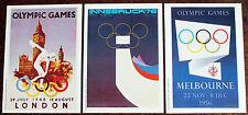 Postcards (1991) of  Olympics (Mars) Set of 3 – Mint – (Se6)