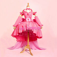 Chobits-freya chobits Chii pink dress cosplay costume Tailor-made[CK836]