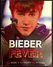 "Justin Bieber ""Bieber Fever"" book collectible 2011 Triumph Books, s. cov, good"