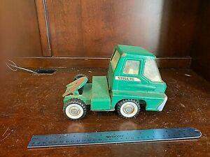 STRUCTO  GREEN  Truck Cab - Pressed Steel.    VINTAGE    11665