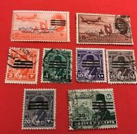 World Stamps Egypt 1948 Occupation Overprint Lot 688