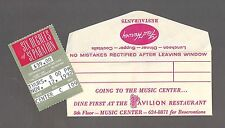 "Marlo Thomas ""SIX DEGREES OF SEPARATION"" John Guare 1992 Los Angeles Ticket Stub"