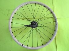 """VINTAGE 1953 SCHWINN BICYCLE S2 PAINTED REAR WHEEL FOR 24"""" X 2.125"""" TIRE"""