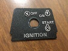 Toro Lawn Mower Ignition Switch Dash Panel Insert 28-2690
