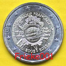 Frankrijk - France - 2 euro 2012 comm.(10 jaar euro cash)