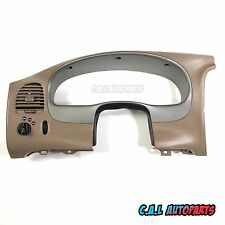 2001-2005 FORD EXPLORER SPORT TRAC CLUSTER BEZEL TAN SILVER