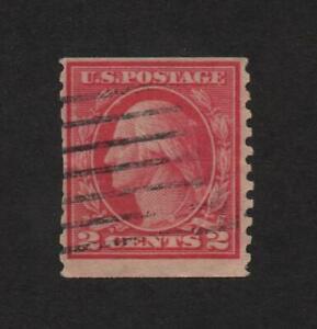 USA 454 (Rotary, Coil perf 10 Vert, Type II) used ..  2021 Scott=$22.50