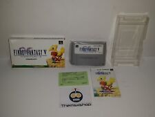 70-06 SUPER NINTENDO SNES FAMICOM SFC FINAL FANTASY V VERY GOOD CONDITION JAPAN