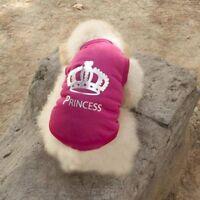 Pet Dog Cat Summer Hot Costumes Princess T-shirt Coat Outfit Vest