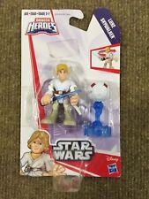 Playskool Galactic Heroes Star Wars Luke Skywalker w/ Lightsaber NEW