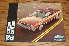 Original 1982 Chevrolet El Camino Sales Brochure 82 Chevy
