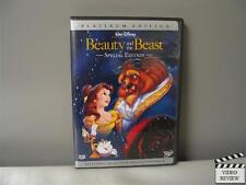 Beauty and the Beast (DVD, 2002, 2-Disc Set, Special Edition)