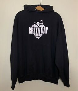 Vintage Green Day Hoodie XL 2004 American Idiot Punk Rock
