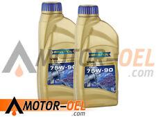 2 (2x1) Liter RAVENOL VSG SAE 75W-90 Getriebeöl Made in Germany
