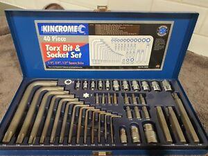 Kincrome Torx Bit & Socket Set