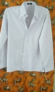 boys white longsleeve school shirt 10 years job lot bundle