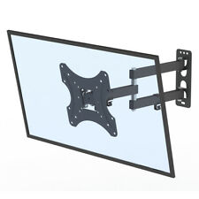 """26-55"""" TV Stand Wall Rotatable Mount Bracket with Sprit Bubble Load 30kg"""