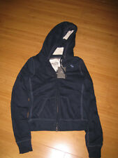 Abercrombie & Fitch AF Hoodie Zip sweater blue M BNWT brand new