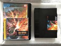 Neo Geo Aes ROM Neo-XYX Zyx Super Rare Snk NG Dev Team Neogeo Game Soft w/Bonus