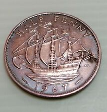 Willie: England 1967 Half Penny