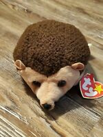 Ty Beanie Baby Prickles the Hedgehog w/Errors 1998 Retired & Rare!