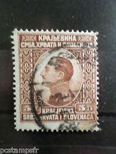 YOUGOSLAVIE 1924, timbre 163, ALEXANDRE I°, oblitéré, VF used stamp