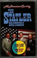 "THE STATLER BROTHERS....""ALL AMERICAN COUNTRY"".......BRAND NEW RARE HTF CASSETTE"