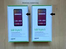 Lot of 2 Brand New Lg Stylo 5 - 32Gb - Grey (Cricket)