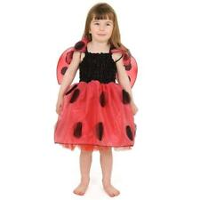 Girl Ladybird Dress Up costume Ladybug Outfit with Wings Age 7 to 10 years New