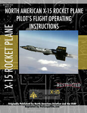 NASA North American X-15 ROCKET PLANE Pilot's Manual Airplane BOOK