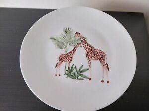 Animal Giraffe Print It Saucer