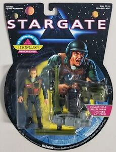 STARGATE LT. KAWALSKY WEAPONS EXPERT WITH SHOOTING COMBAT CANNON
