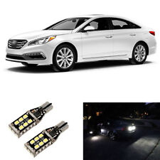 Total 1600LM White 921 LED Reverse Backup Light Bulbs For 2011-2017 2018 Sonata