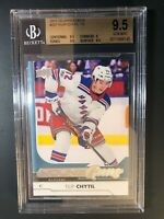 2017-18 Upper Deck Filip Chytil Young Guns Rookie BGS 9.5