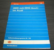 Audi 100 C4 ABS EDS Bosch Selbststudienprogramm  SSP 148  Stand  04/1992