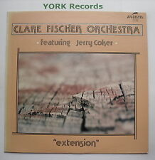 CLARE FISCHER ORCH ft JERRY COKER - Extension - Ex LP Record Discovery DS-902