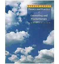 Student Manual for Theory and Practice of Counseling and Psychotherapy-ExLibrary