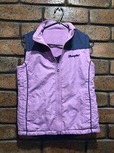 Girls Reversable Wrangler Vest, Size 10, & Girls Wrangler Top Sz 10