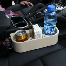 Beige Car/Truck/Vehicle Drink Cup Holder Beverage Can Bottle Food Mount Stand
