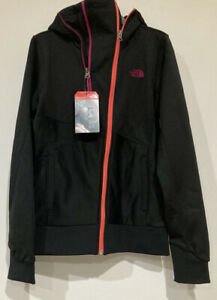 north face XS Hooded black Jacket. NEW.
