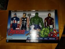 """Titan Hero Series 12"""" Walmart Exclusive Avengers Set"""