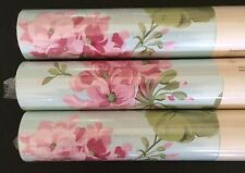New Laura Ashley Geranium Pale Topaz wallpaper rolls