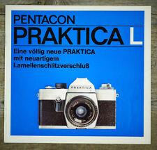 PENTACON Prospekt PRAKTICA L von 1970 Kamera Objektive Zubehör Broschüre (X7099