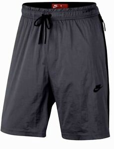 NIKE Tech Pack Hypermesh Dark Grey Black Loose Fit Shorts NEW Mens XS