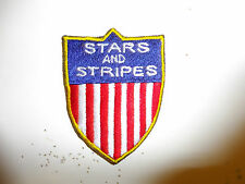 c0027a  WW 2 US Army CBI China Burma India Stars and Stripes Patch R10B