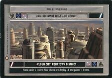 Star Wars CCG Special Edition Cloud City Port Town District