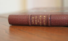 1891 Vieille idylle Morin pointes sèches EO Reliure bibliophilie Vannes Bretagne