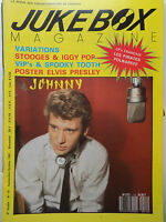 Revista Jukebox Revista N º 15 - Johnny Hallyday Stooges Iggy Pop Elvis Presley