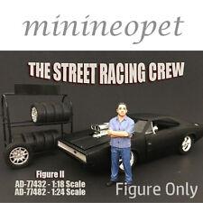 AMERICAN DIORAMA 77432 THE STREET RACING CREW FOR 1/18 MODEL CAR FIGURE II